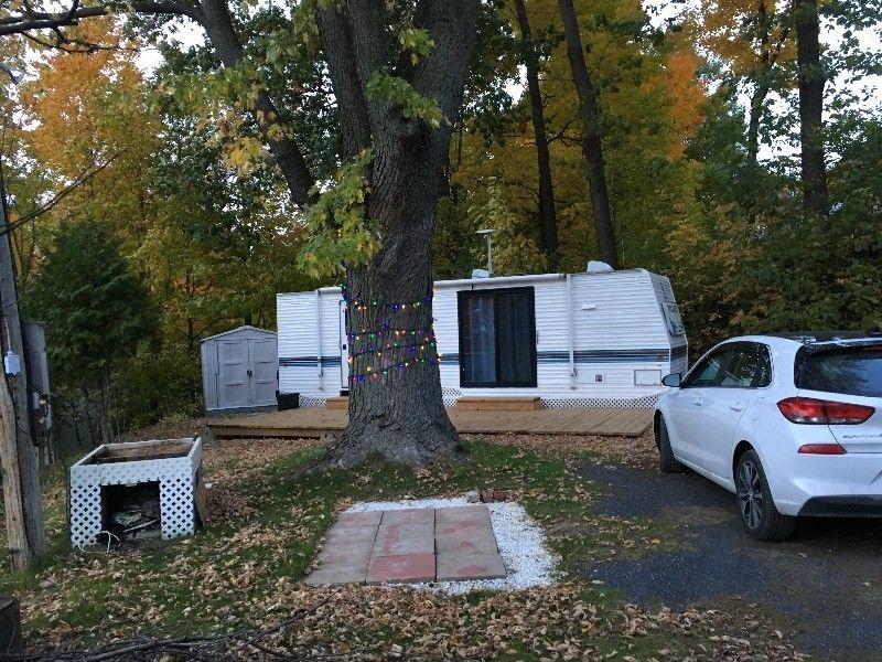 roulotte a vendre camping ile marie