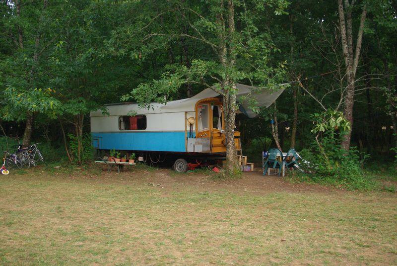 roulotte a vendre camping montagne d'argent