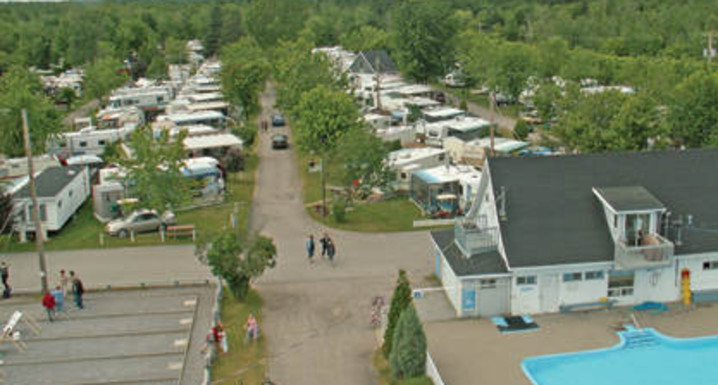 roulotte a vendre camping panoramique portneuf