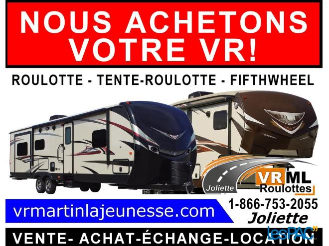 roulotte a vendre lanaudiere