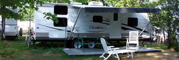 roulotte a vendre terrain de camping