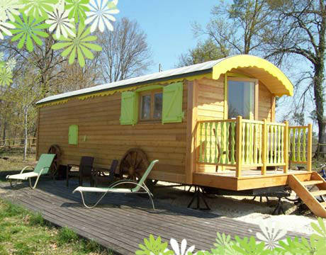 roulotte camping 4 saisons