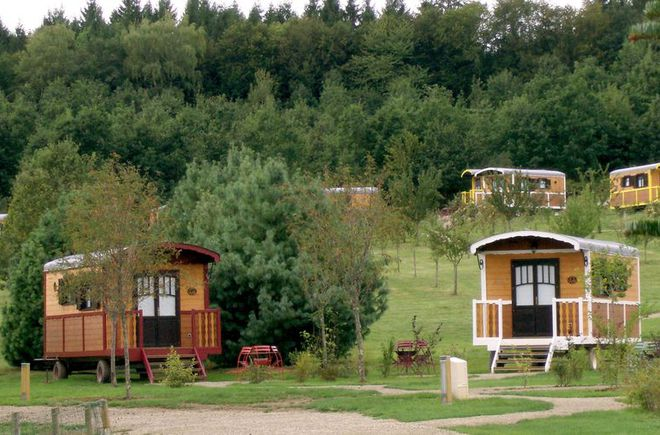 roulotte camping a louer