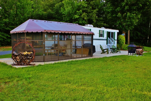roulotte camping a vendre lac st jean