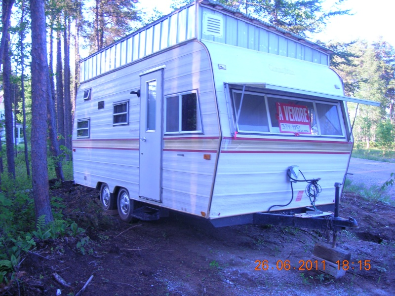 roulotte camping a vendre pas cher