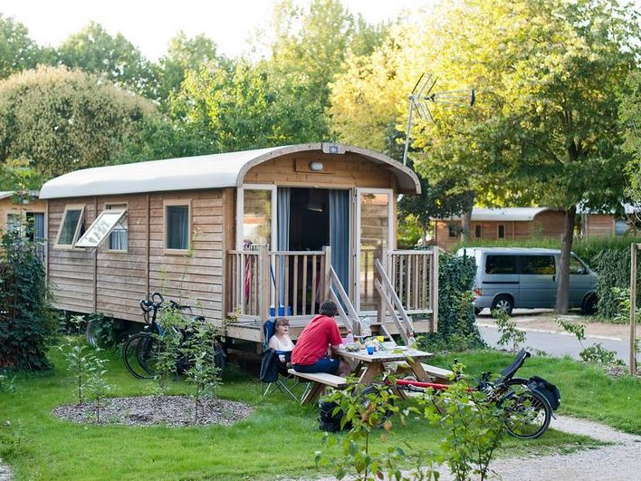 roulotte camping a