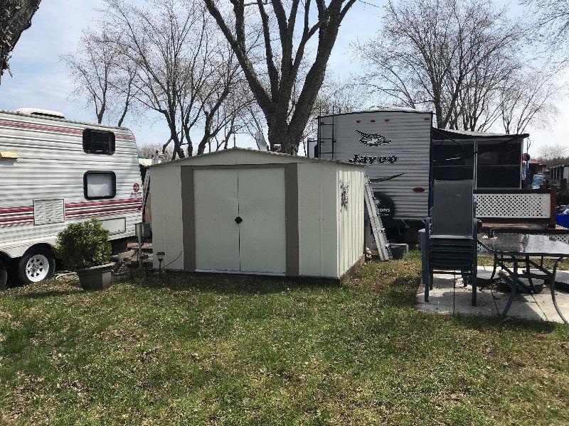 roulotte camping domaine du reve