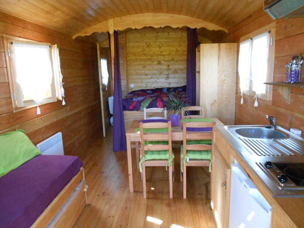 roulotte camping du vieux moulin