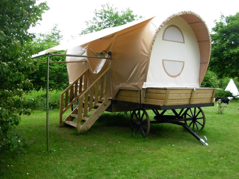 roulotte camping hiver