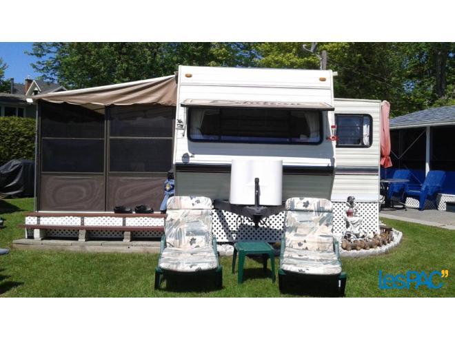 roulotte camping mckenzie a vendre