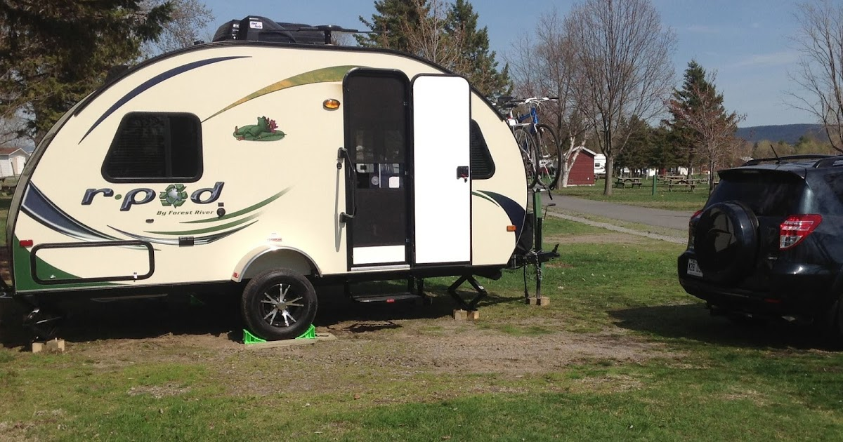 roulotte camping montmagny