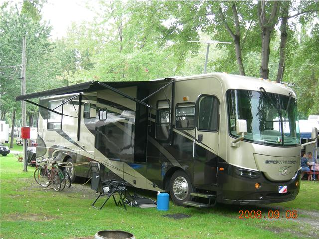 roulotte camping montreal
