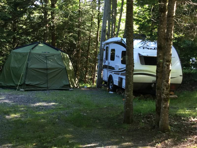 roulotte camping normand