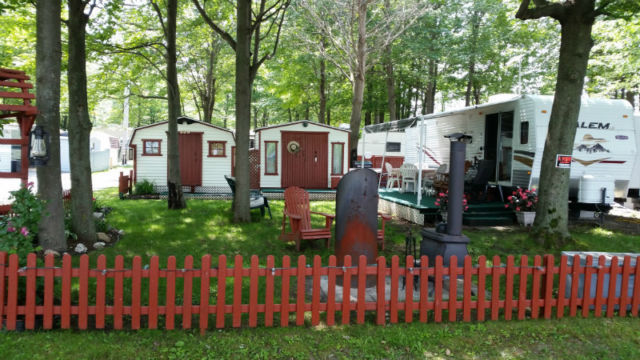 roulotte camping oasis