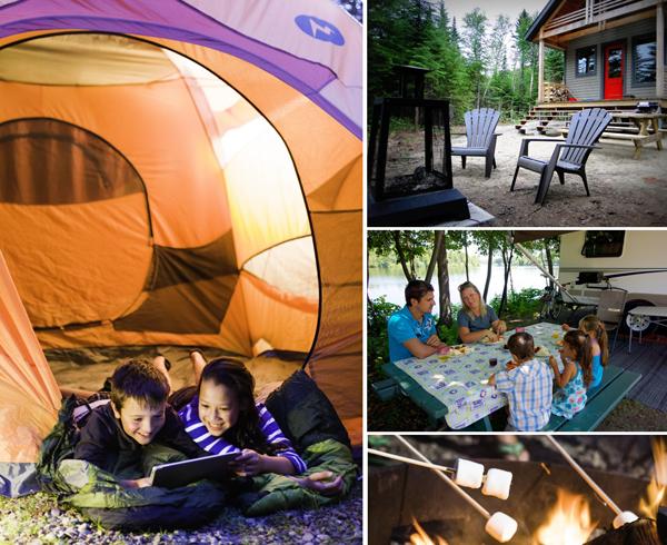 roulotte camping parc de la peninsule