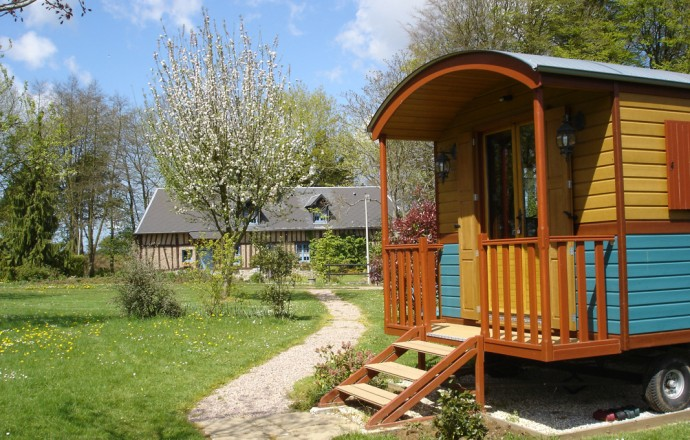 roulotte camping rouville