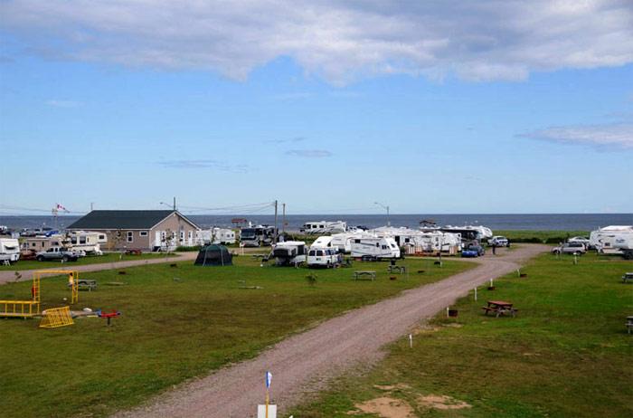 roulotte camping shippagan