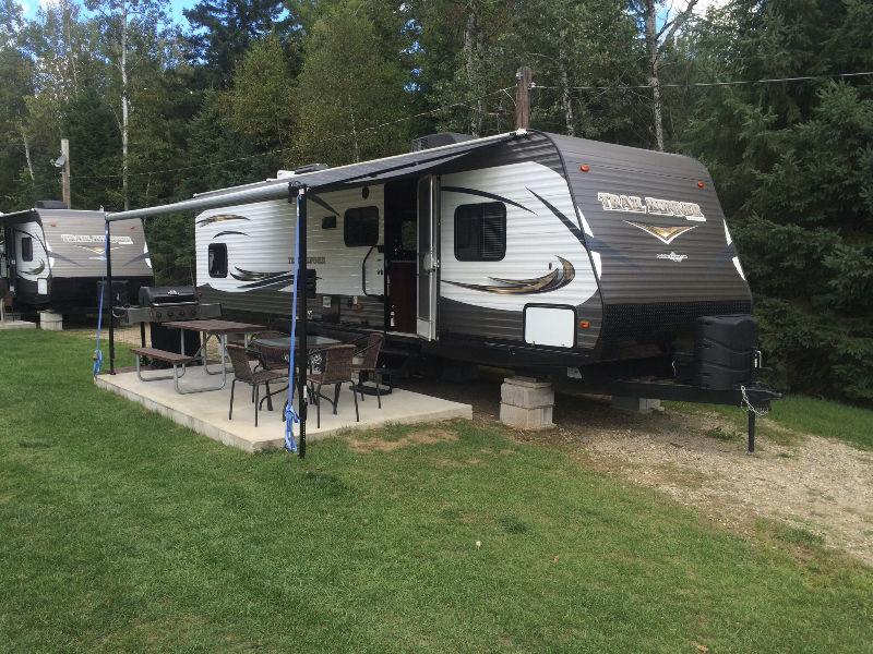 roulotte camping st-tropez vendre